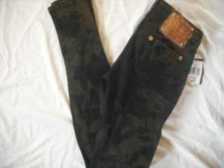 NEW WOMENS GUESS POWER ULTRA SKINNY BROWNIE JEANS 8 29