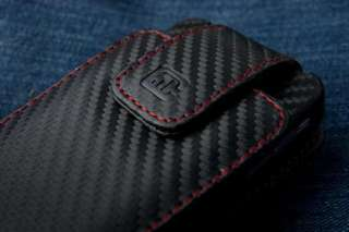 Carbon Fiber Style Holster for Apple iPhone 4G
