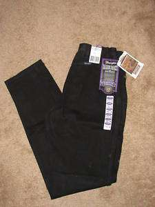 NWT Black Bare Back Wranglers Classic Fit Long Rise