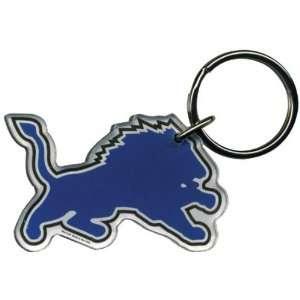 Detroit Lions   Helmet Acrylic Keychain
