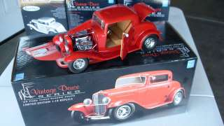 GMP 1/18 1932 Ford Red 3 window Coupe Release # 20
