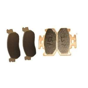 YAMAHA XT 250 X/Y/Z/A Sintered metal Front Rear Brake Pads 2008 2009