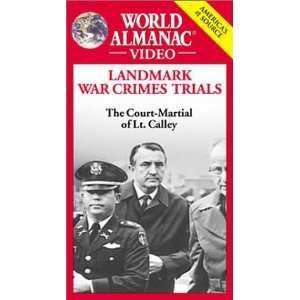War Crimes Trials The Court Martial of Lt. Calley [VHS] Movies & TV