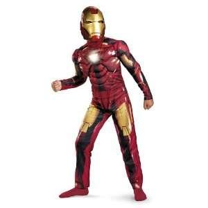 Iron Man 2 Mark VI Light Up Deluxe Costume Child Large 10