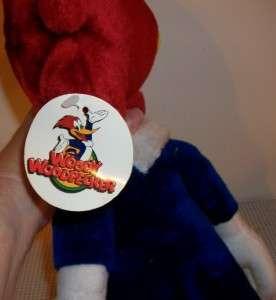 Woody Woodpecker soft plush Toy 2001