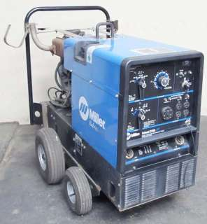 MILLER BOBCAT 225D PLUS CC/CV AC/DC DIESEL POWER WELDER 16 HP 8500