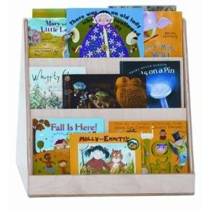 Wood Designs 32200 Two Sided Tot Size Book Display