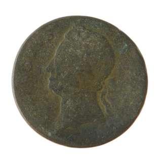 Colonial Ireland   1/2d Half Penny   Copper   Coin   SKU# 3885