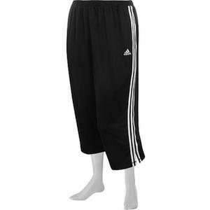 Adidas Womens Plus Size Loose capri pants Sports