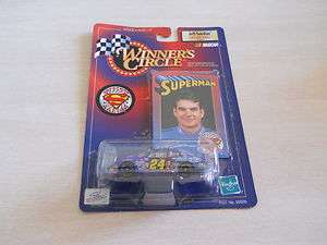 JEFF GORDON WINNERS CIRCLE DIE CAST SUPERMAN CAR1:64 SCALE