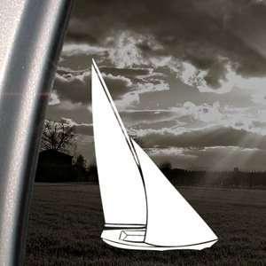 Sail Boat Boys Kids Nautical Decal Window Sticker Automotive
