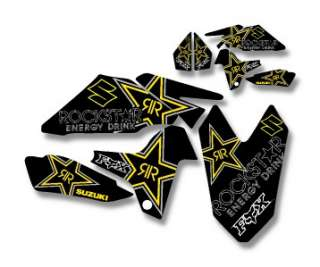 SUZUKI LTR 450 CUSTOM ROCKSTAR GRAPHIC KIT DECAL LT R