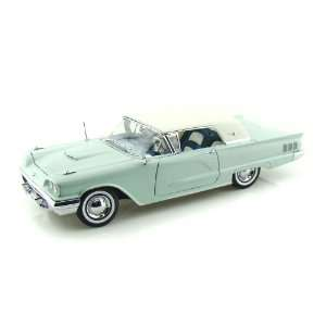 1960 Ford Thunderbird Hard Top 1/18 White/Skymist Blue