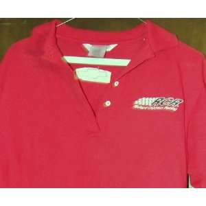 Richard Childress Racing RCR Red Golf Shirt Size M: Sports