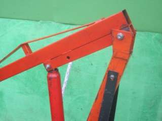 TON LONG RAM BOOM LIFT HOIST CHERRY PICKER SHOP CRANE