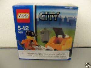 Lego City #5611/Garbage Man New in Box