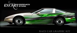 RACE CAR GRAPHICS Vinyl Decal SCCA Club Racing Graphic