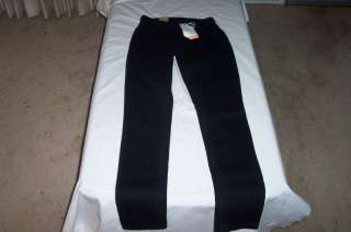 Levis 528 Curvy Cut Black Skinny Jeans Size 0 M Jr