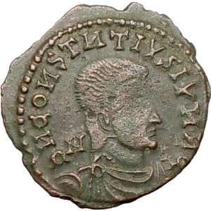 GALLUS Roman Caesar CELTIC BARBAROUS ISSUE GAUL BRITAIN Ancient Coin