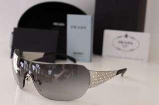 Designer Womens Oversized Aviator Style Sunglasses SPR 60I RRP £250