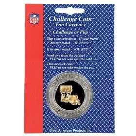 New Orleans Saints NFL Challenge Coin Poker Chip Guard