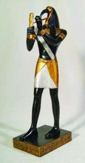 New Large Ancient Egyptian Thoth Statue Figurine