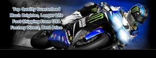 Harley FLHX Street Glide 06 07 08 09 10 Xenon Headlight bulbs H4
