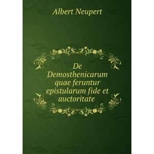 quae feruntur epistularum fide et auctoritate . Albert Neupert Books