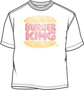 Burger King Scribble Mens Shirt BR021MS