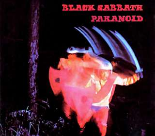 Black Sabbath   Paranoid album Cover T shirt
