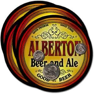 Alberton, MT Beer & Ale Coasters   4pk Everything Else