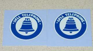 Buddy L Bell Telephone Truck Decal Set BL 007