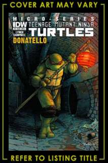 6991d2c320a ... TEENAGE MUTANT NINJA TURTLES MICRO SERIES  3 DONATELLO IDW Comics ...