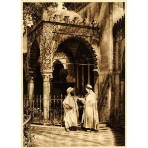 1924 Arab Men Costume Oran Algeria Lehnert & Landrock   Original