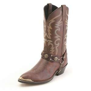 Laredo Maverick J Toe Leather Western Cowboy Boots 7 13