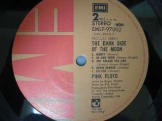 PINK FLOYD / THE DARK SIDE OF   Japan G/F w/obi PRO USE