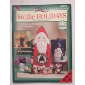 For the Holidays (One Stroke) (Craft Book) Donna S Dewberry Books