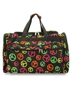 Large 22 DUFFLE BAG Gym Weekend Tote Bag Carry On 40+ Styles Choose
