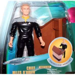 CHIEF MILES OBRIEN Star Trek Deep Space Nine 1998 Warp Factor