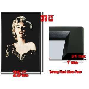 Framed Poster Marilyn Monroe Lace Dress Sexy FrSt4597