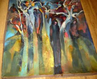 opean oil painting canvas Abstract Modernism Expressionism
