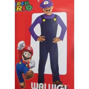 Super Mario Waluigi Child Costume   Medium Everything