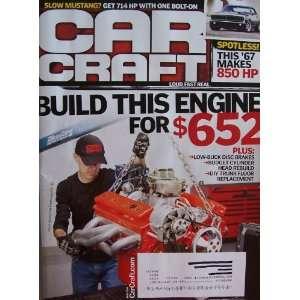 (Build his Engine for $652) Douglas R. Glad  Books