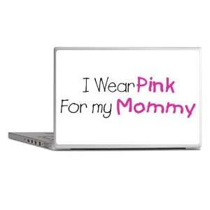 Laptop Notebook 17 Skin Cover Cancer I Wear Pink Ribbon