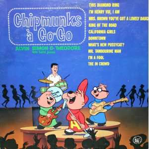 Chipmunks a Go Go: Simon & Theodore Alvin, David Seville: Music