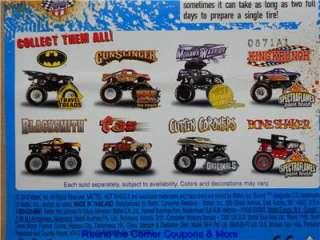 2011 Hot Wheels Monster Jam 42 TAZ TASMANIAN DEVIL Truck 1/64