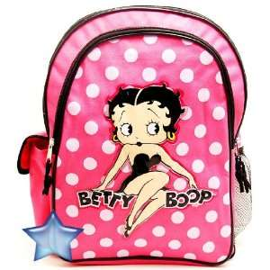 Classic Betty Boop Large Backpack and Shoulder Purse 00759