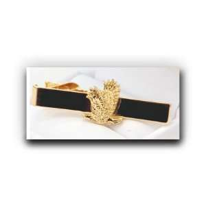 com Eagle Tie Bar (Gold)   A Christian Clothing Accessory   Christian