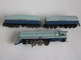 BLUE GOOSE AHM Rivarossi 4 6 4 Santa Fe 3460 Steam Engine train coal