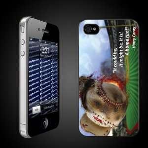 Baseball Theme iPhone Hard Case Harry Caray Quote